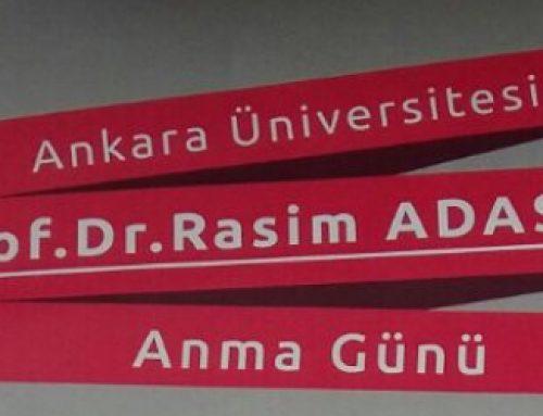 """24 Mart 2017 Prof. Dr. Rasim ADASAL Anma Günü (PANEL)""""Terör-Toplum-Birey"""""""