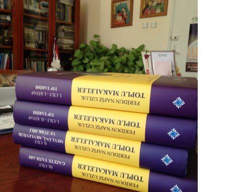 Tıp Tarihi ve Etik Anabilim Dalı'nın kurucusu olan Prof. Dr. Feridun Nafiz Uzluk'un Toplu Makaleleri Yayınlandı