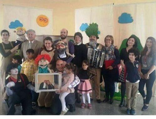 Hastanemizde tedavi gören çocuklar için kukla tiyatrosu