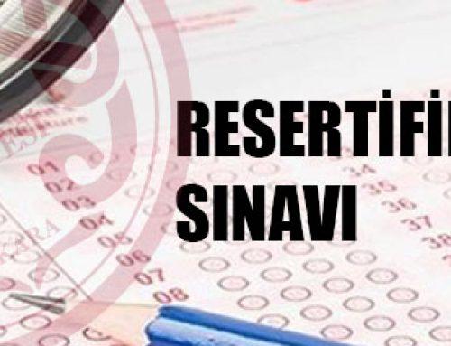 2018 Yılı Hekim ve Hemşireler İçin, Hemodiyaliz Resertifikasyon Sınav Duyurusu