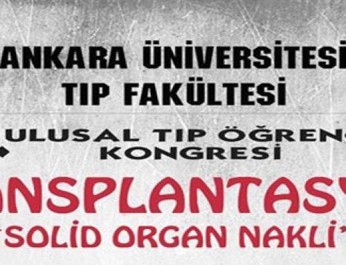 """6.Ulusal Tıp Öğrenci Kongresi TRANSPLANTASYON """"SOLİD ORGAN NAKLİ"""""""