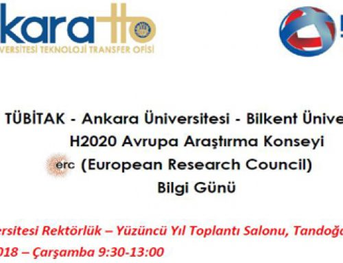 AB H2020 Avrupa Araştırma Konseyi (European Research Council – ERC) Bilgi Günü