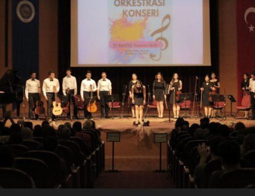 Müzik Öğrenci Topluluğumuzdan Oda Orkestrası Konseri